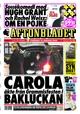 Rykande färska nyheter på Aftonbladet