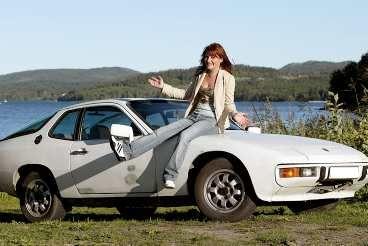 Hon fick en Porsche - i dricks!